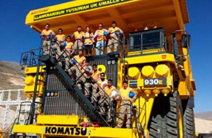 38 Camiones 930E-4 se Entregaron en Las Bambas