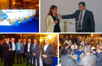 Lanzamiento de Komatsu Finance en Lima